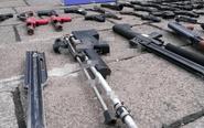 泰州集中销毁非法枪爆物品 共940多件