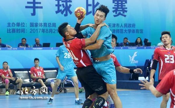 全运手球上海江苏广东小组领先 天津两连败