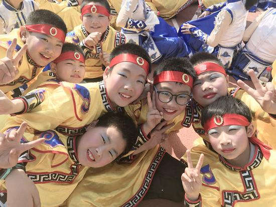 少年志·民族情·中国心 海淀双榆树一小第三届体育节正式启动