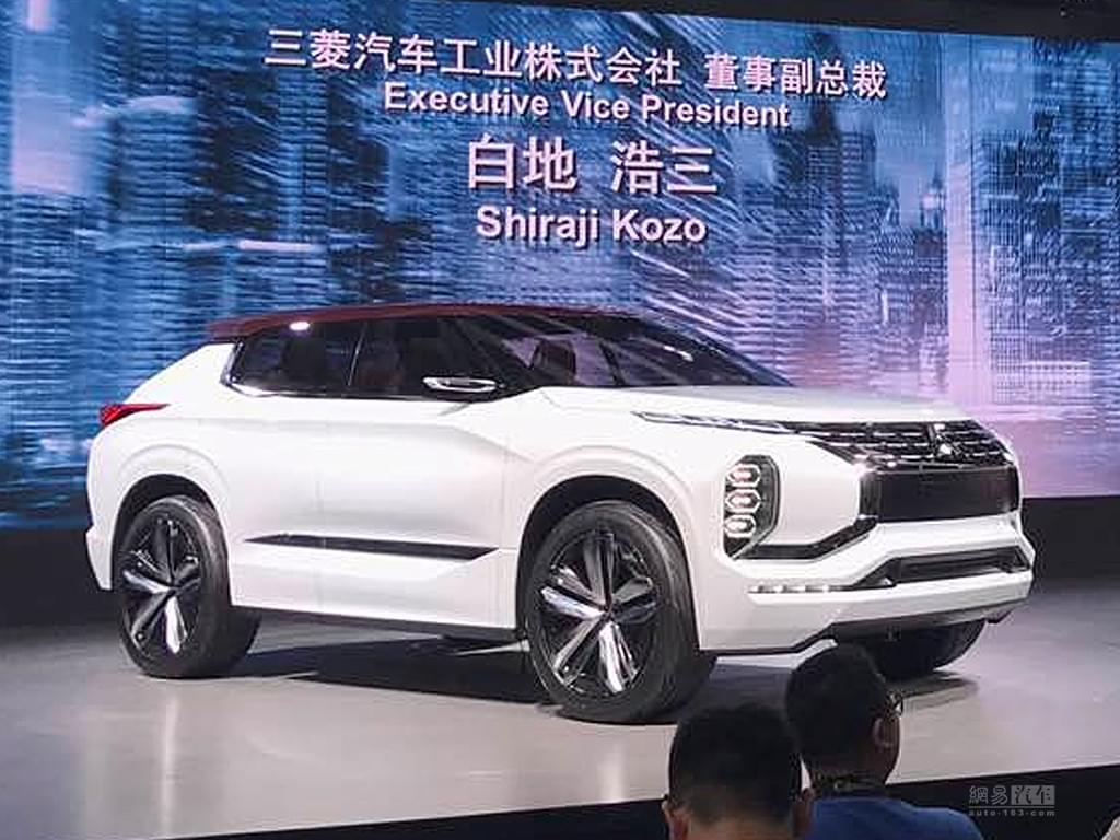 2017上海车展:三菱GT-PHEV概念车发布