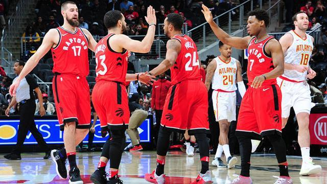 NBA-东部最新夺冠赔率:猛龙挑落骑士?76人压绿军
