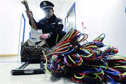 电老鼠被捕!佛山男子共盗取130多条电缆价值过万