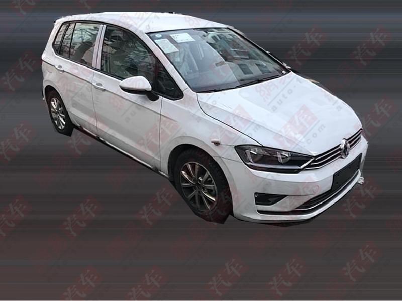 秋天上市 高尔夫sportvan 1.5L谍照首曝
