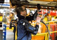 福特测试新型外骨骼:帮助装配工人省力防工伤