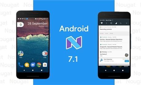 谷歌将推送安卓7.1