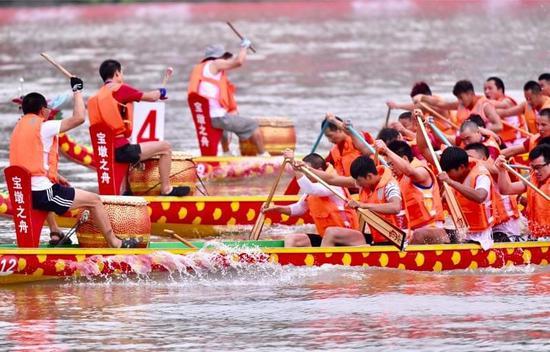 第八届2017中国成都国际名校赛艇挑战赛落幕