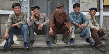 """外国记者镜头下,你从未见过的""""朝鲜微笑"""""""
