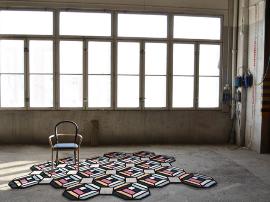 立体感几何图案地毯 将地板变为艺术品