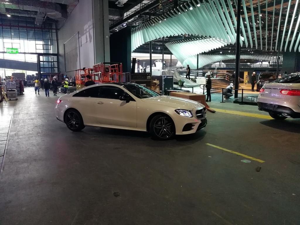 2017上海车展探馆:全新奔驰E级 Coupe