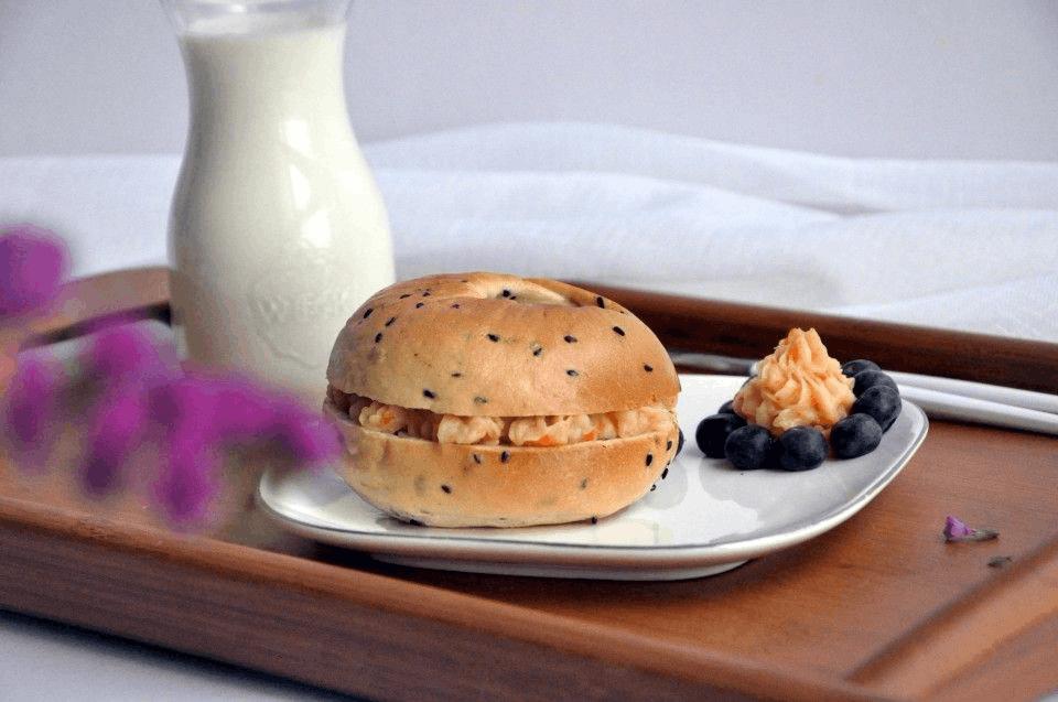 低糖无油的一款面包 享受美味同时保持好身材