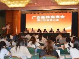 广西新桂商商会召开第二次会员大会 陈向阳当选会长