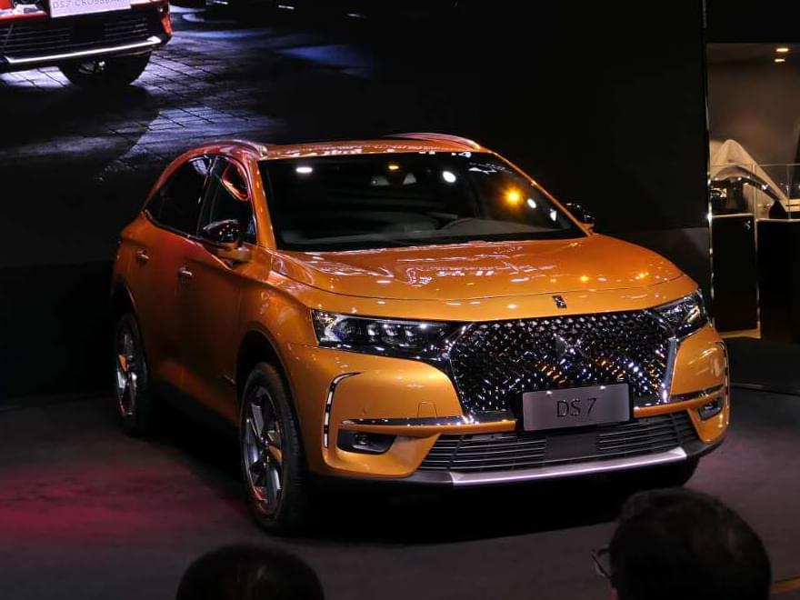 8AT+独立后悬 国产DS 7正式亮相广州车展