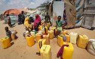 索马里持续干旱引发饥荒