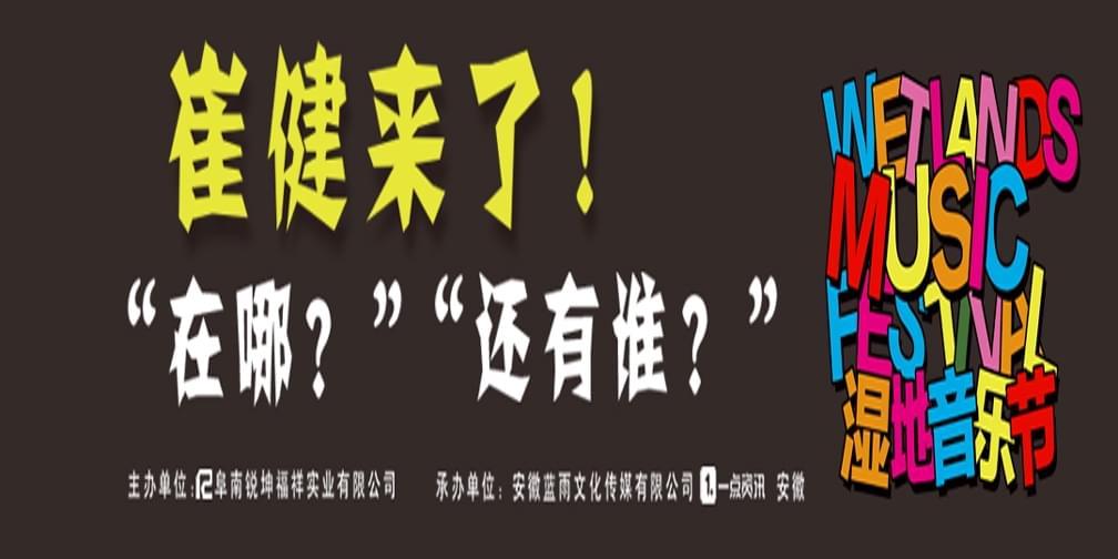 无音乐不青春!阜南王家坝首届国家湿地公园音乐节爆料