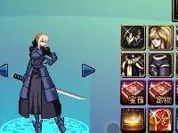 DNF女鬼剑模型女鬼剑猎龙时装特别丑改黑化saber - dnf - 地下城与勇士