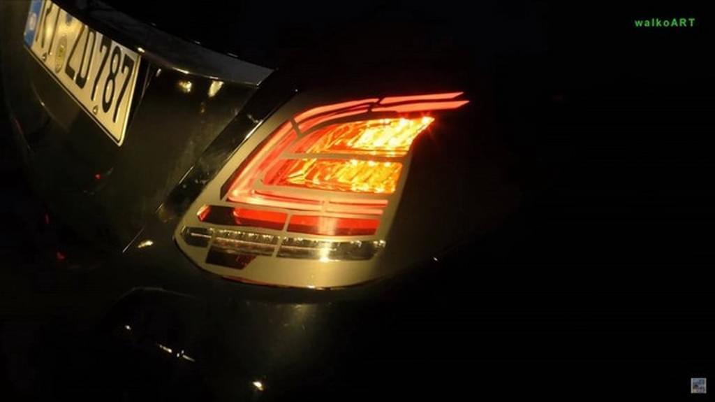 奥迪看了啥想法 改款奔驰C级灯组谍照曝光