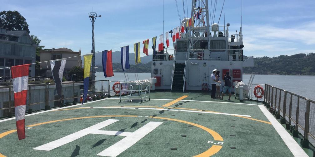 海上直升机救援 他们是怎么做到的?