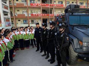 """邯郸:""""110""""报警常识宣传进校园"""