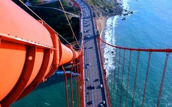 爬上67米的大桥 给你一个壮观的旧金山