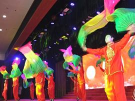 新绛县举办首届金融系统迎春晚会