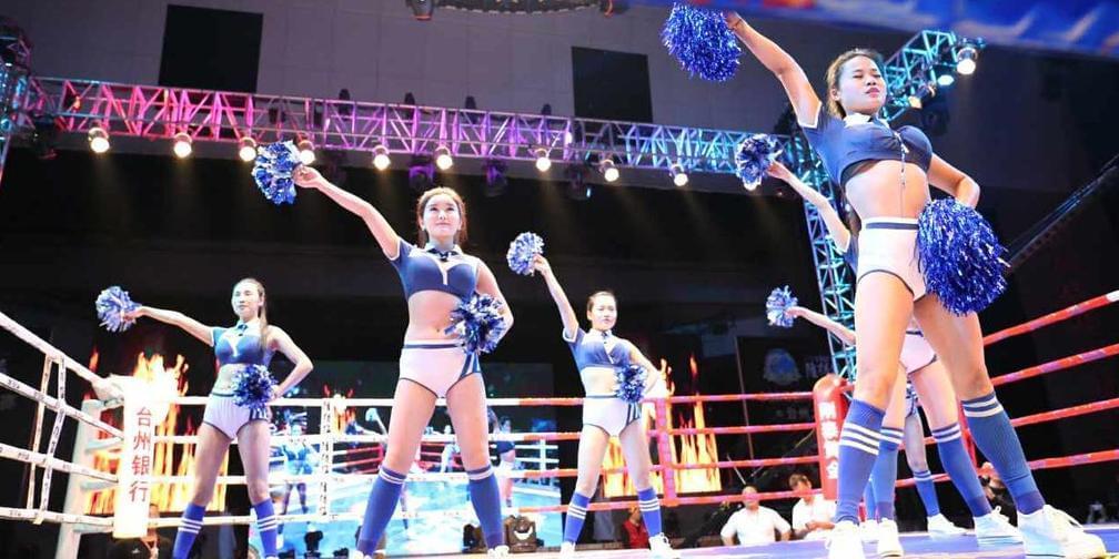 隆得猛·CGBQ国际搏击联赛威猛开战!
