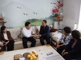 临猗县四大班子领导开展教师节走访慰问活动
