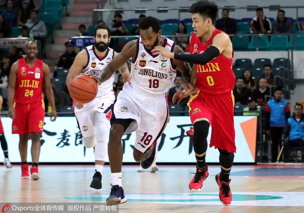 广州28分大胜吉林首进季后赛 福格25+10兰德里31+8