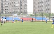 第三届足球联赛开幕 9支代表队一决高下