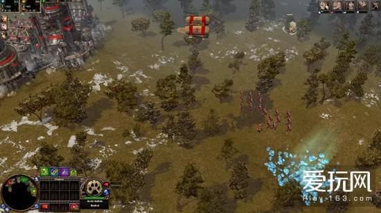 策略元素进行了一定简化,变得更像典型的RTS
