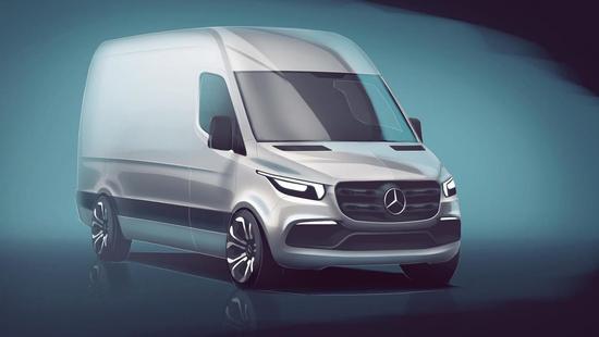 新一代奔驰Sprinter设计草图