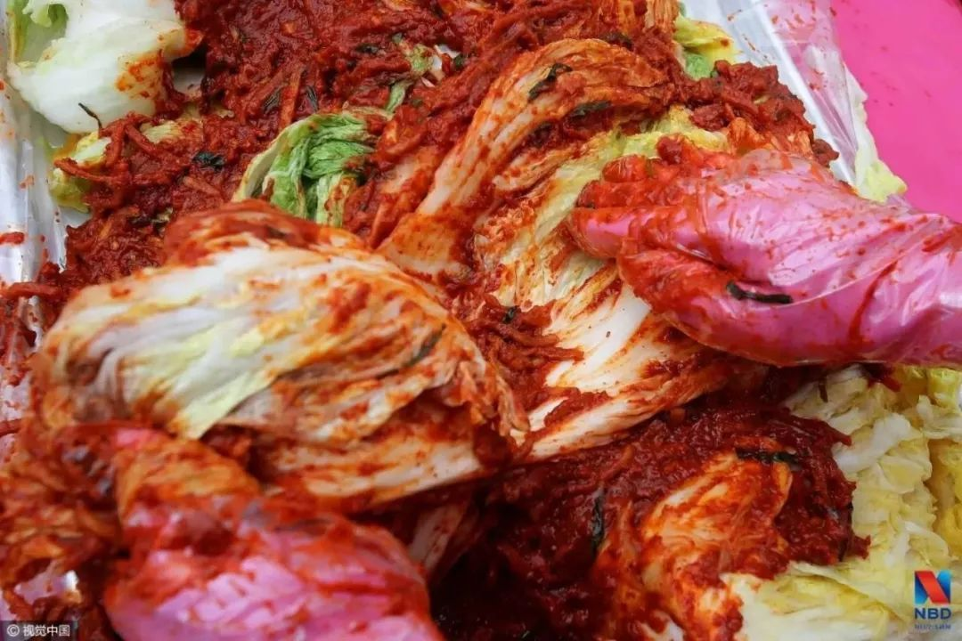 进口泡菜99%来自中国 韩媒:不敢自称泡菜宗主国了