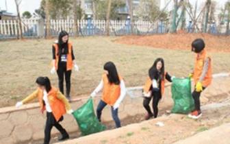 嘉鱼新街镇发动村民自觉维护房前屋后的卫生