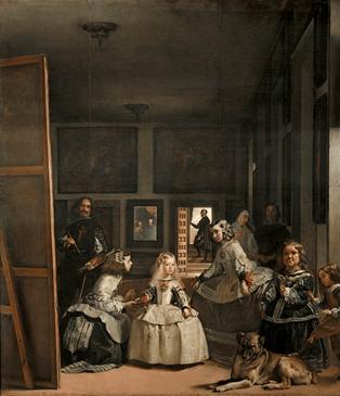 世界三大名画之一——委拉兹开斯(Diego Velázquez)《宫娥》