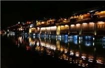 2017世界互联网大会探营--乌镇夜景