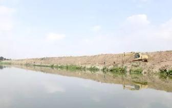 普宁开展练江流域河道环境整治 严打非法排污行为