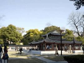"""泰山公园开始升级改造 将新建""""锦绣海陵""""景观"""