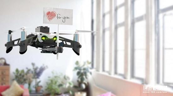 Parrot推出可射击可组队作战的迷你无人机