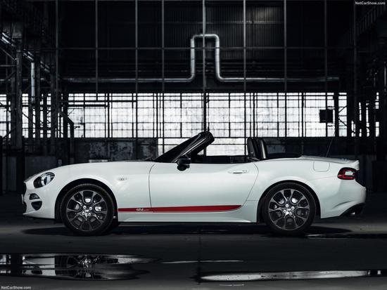 日内瓦车展发布 菲亚特124 Spider特别版官图