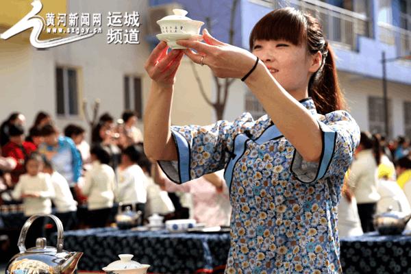 夏县运用中华传统文化教育邀请千名家长进校园