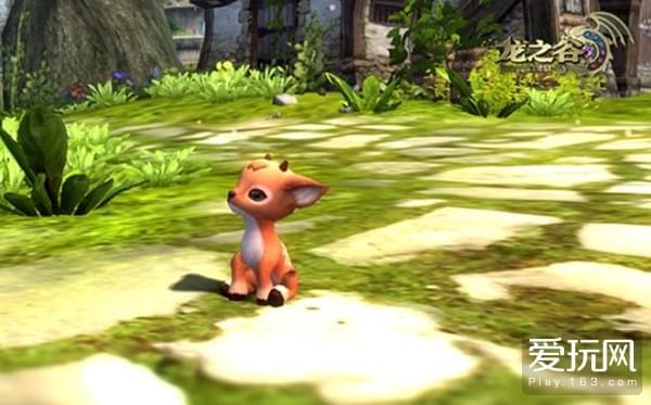 融化你的心《龙之谷》成长型宠物 梅花鹿推出