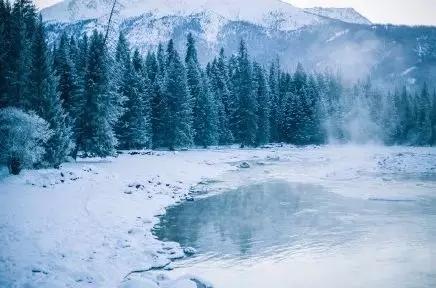 冬季与冰雪相约 恋一场喀纳斯雪景