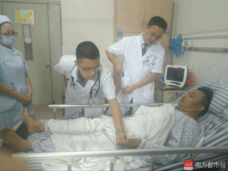 佛山辅警突发急性心肌梗死 市民医护接力救了他