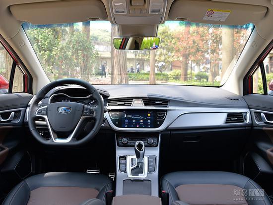 换全新1.4T发动机 2018款帝豪GS配置曝光