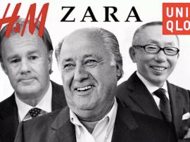 各施手段 H&M、优衣库与ZARA的快时尚品牌鏖战