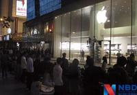 iPhone 8发售苹果店冷清,网友:这届果粉太不争