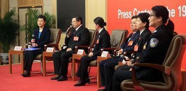 政法战线代表接受采访 谈全面推进依法治国