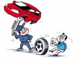 黄梅城南工商所规范汽车维修市场