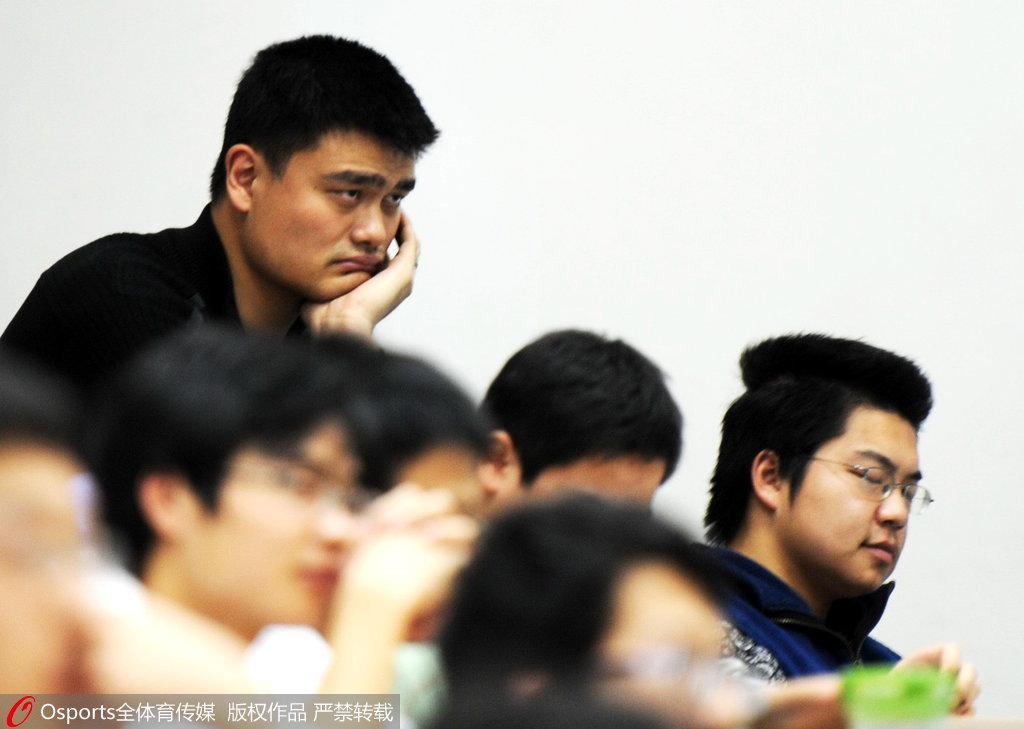 2011年11月7日,姚明大学生涯开始
