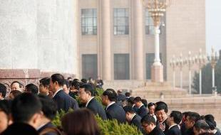 人大一次会议第四次全体会议举行