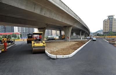 新华南路南公园至胜利路口段25日试通车
